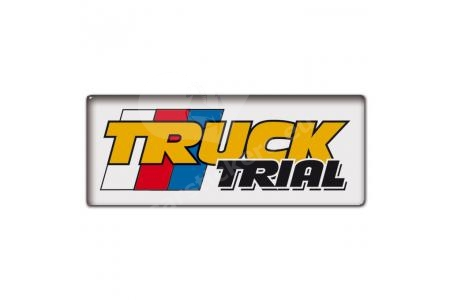 Sticker  retro Truck Trial