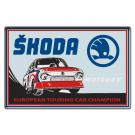 Sticker  retro Skoda